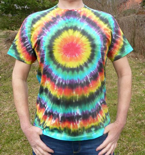 Batikované tričko Spektrum, XXL