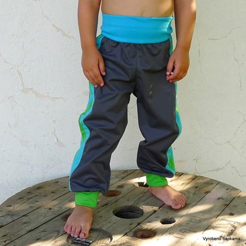 Softshellové kalhoty LAMPASÁKY
