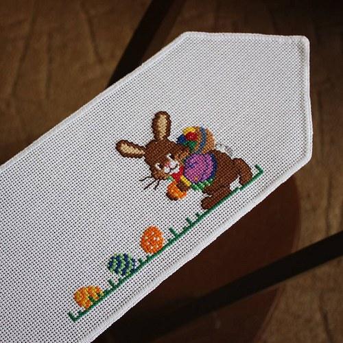 Velikonoční ubrousek - zajíc