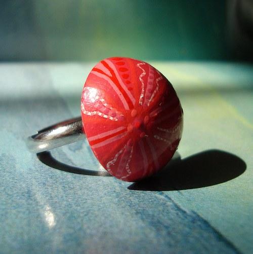 Patnáctý zámořský objev - malovaný prsten