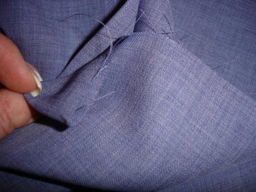fialový polyester 1,5m šíře 150cm