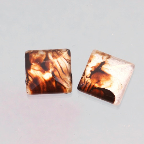 2 kabošony: sklo, 12 mm