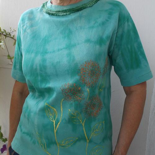 Zelené tričko