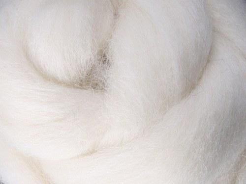 Česanec Corriedale bílý 20 g