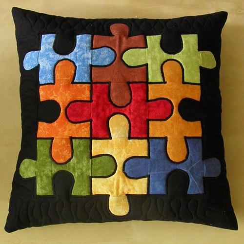 Puzzle polštář