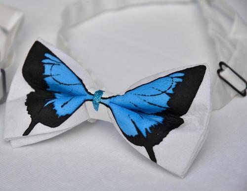Motýlek - modrý