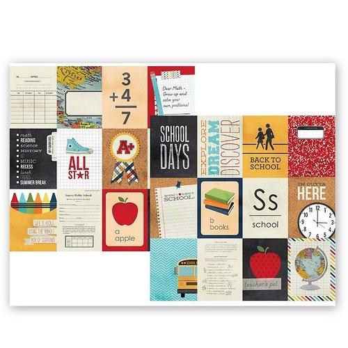 Scrapbookový papír SS/3x4/ Smarty Pants Journaling