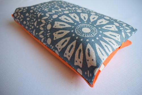 Plenkovnik - Taška na plenky / modro-oranžový