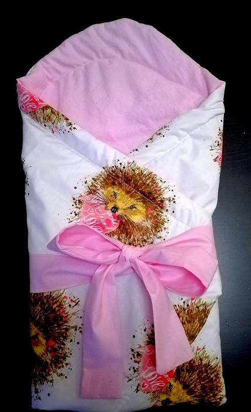 víceúčelová zavinovačka ježečci 100% bavlna