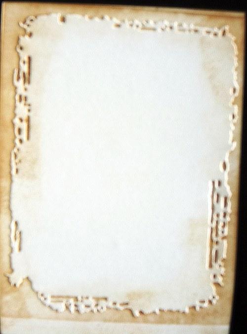 Embossovaný polotovar k dotvoření - Timíkův rám