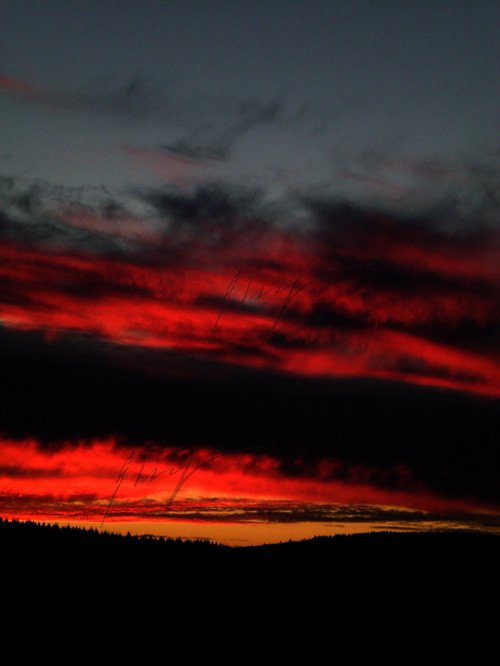 Nebe hoří....