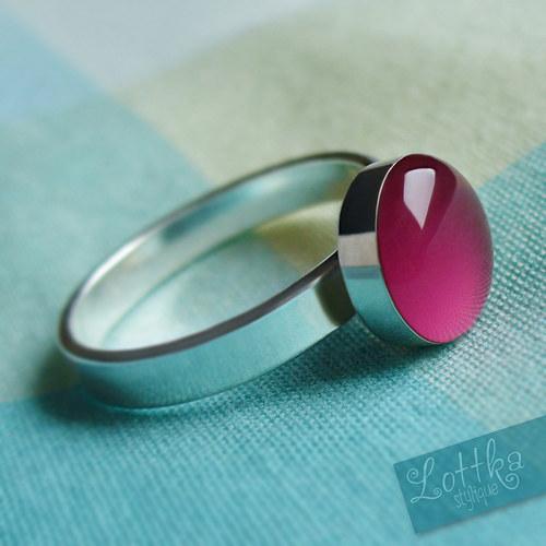 Framboise prstýnek - stříbro