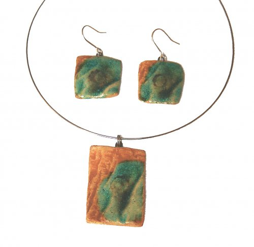 Souprava: náušnice + náhrdelník