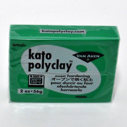 Kato Polyclay / profi polymerová hmota / Zelená