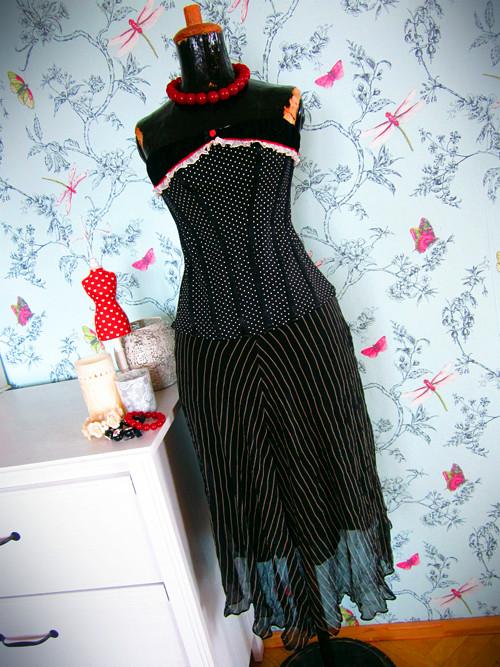 Hedvábná sukně luxusní