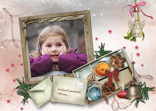 Krabice dárečků - vánoční přání