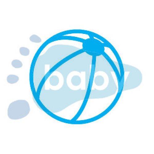 Razítko plážový míč 5 x 5 cm