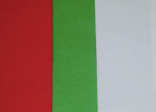 Velurový papír A4 - zelený