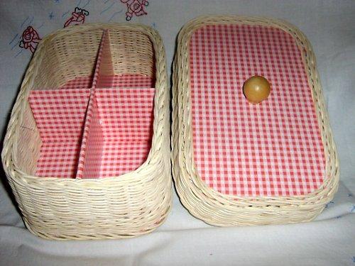Košík na šití