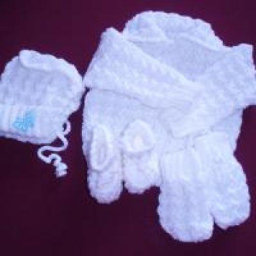 Pletená soupravička pro děti