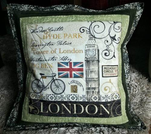 """Povlak na polštář \""""Vzpomínka na Londýn\"""""""