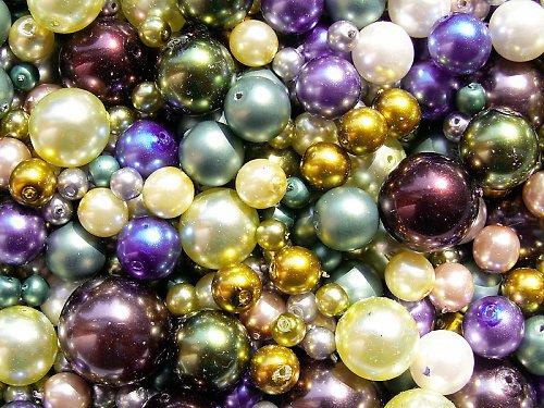 Voskové perle - lesní směs