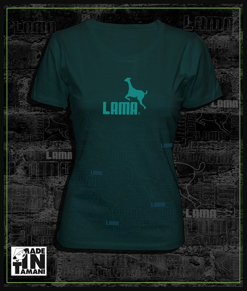 Dámské tričko auberghine design Lama 11