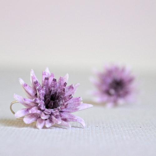 Chryzantémy na ouška - borůvky se smetanou