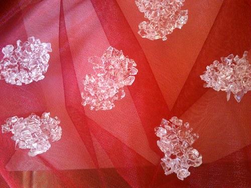 krystaly na nejen svatební stůl