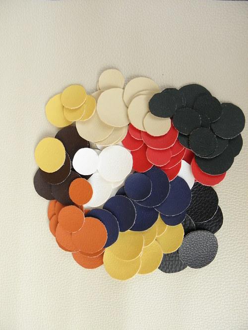 různobarevná kolečka 50 ks