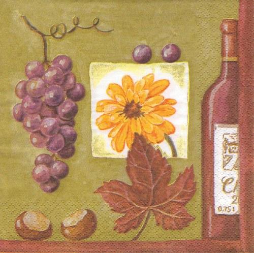 Ubrousek - víno