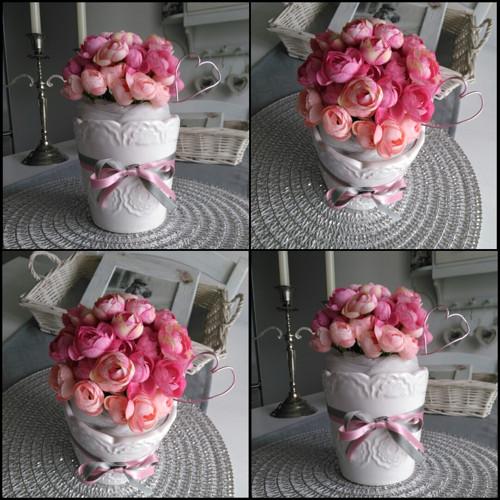 Květinová vazba růžová