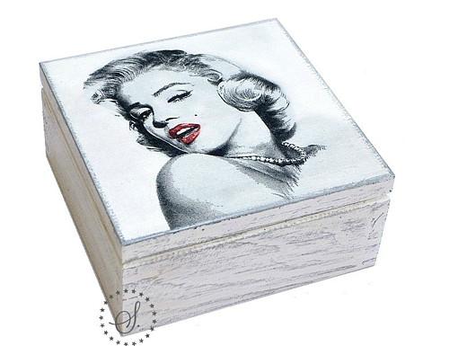 krabička - 4 přihrádky na čaj nebo šperky