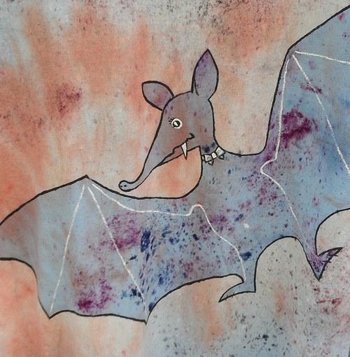 Tričko s netopýrem (výprodej, sleva z 299,-)