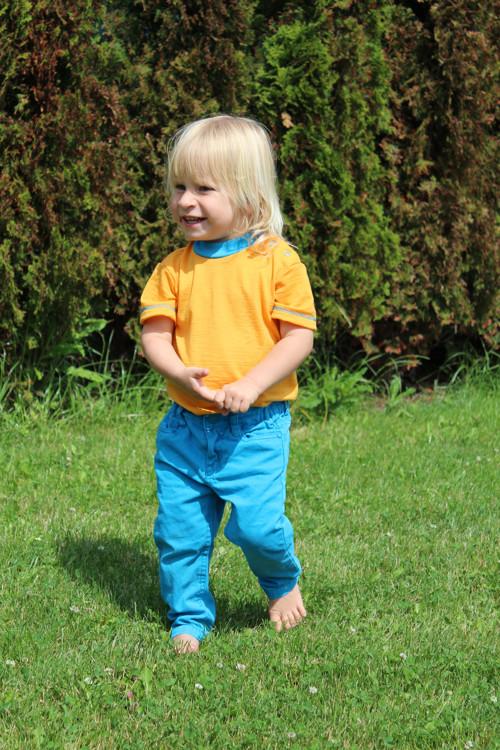 Rostoucí BODY-tričko - LETNÍ MERINO vlna