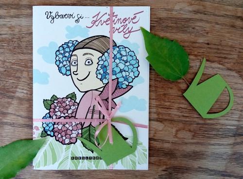 Květinové víly - vymalovánky