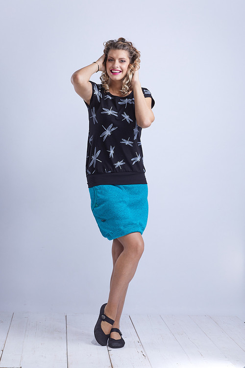 Skirt Warm Turquoise