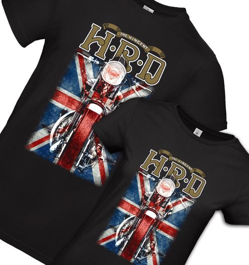 Retro tričko Vincet HRD - sada pre dvoch