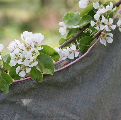 Zahradní luxus...sukně zbiobavlny