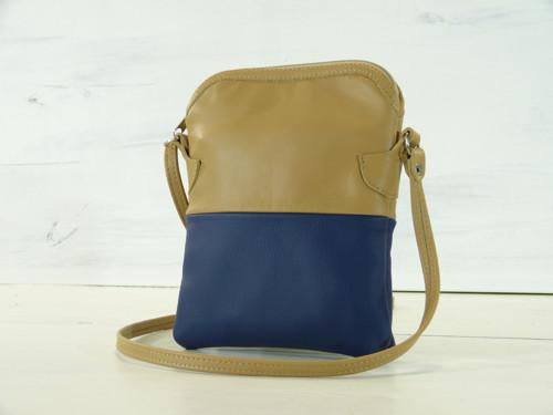 Kožená kabelka - Anka