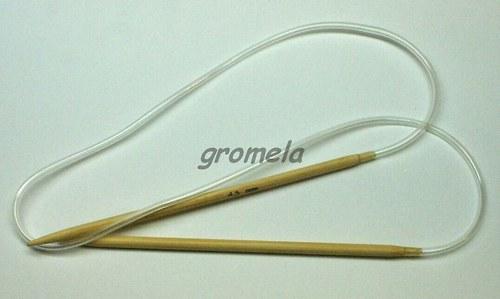 Jehlice kruhové vel.4,5 (80 cm) - bambus