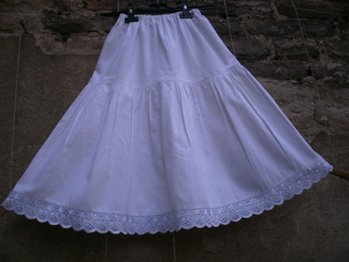 Dětská spodnička s krajkpu