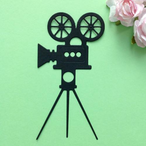 Filmová kamera, barva dle přání (výsek) (VEC 18)