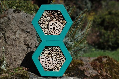 Hmyzí hotel pro včelky samotářky DUO