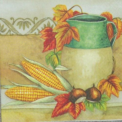 Džbán s kukuřicí