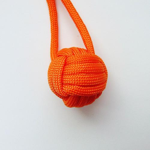 Monkey fist - oranžový