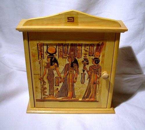 egypt-skříňka na klíče