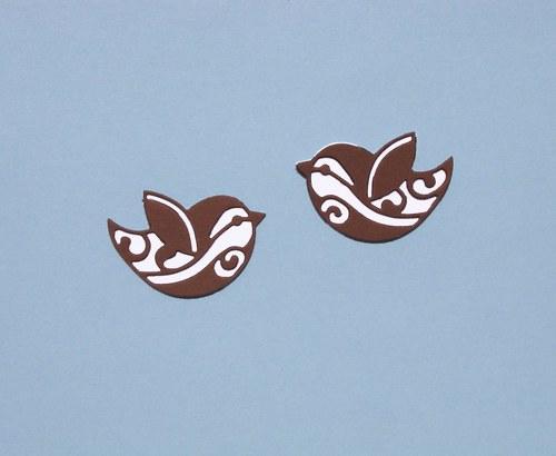 Dva ptáčci vrstvení