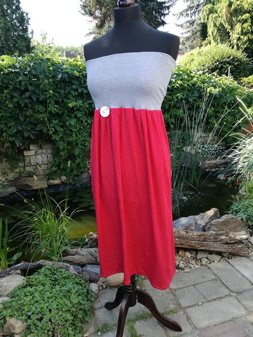 Mini puntík šaty/sukně  2v1
