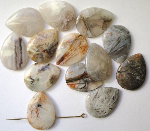 Minerál zříceninový achát  - kapka
